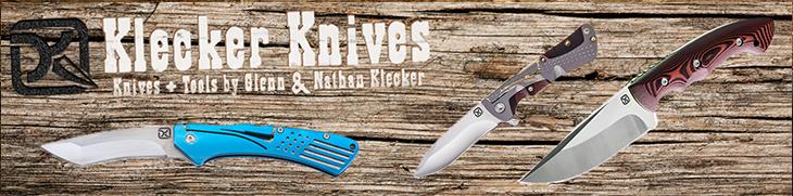 Klecker knives survival jacht zakmessen