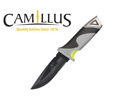 Camillus Les Stroud Mountain Knife Survival Mes